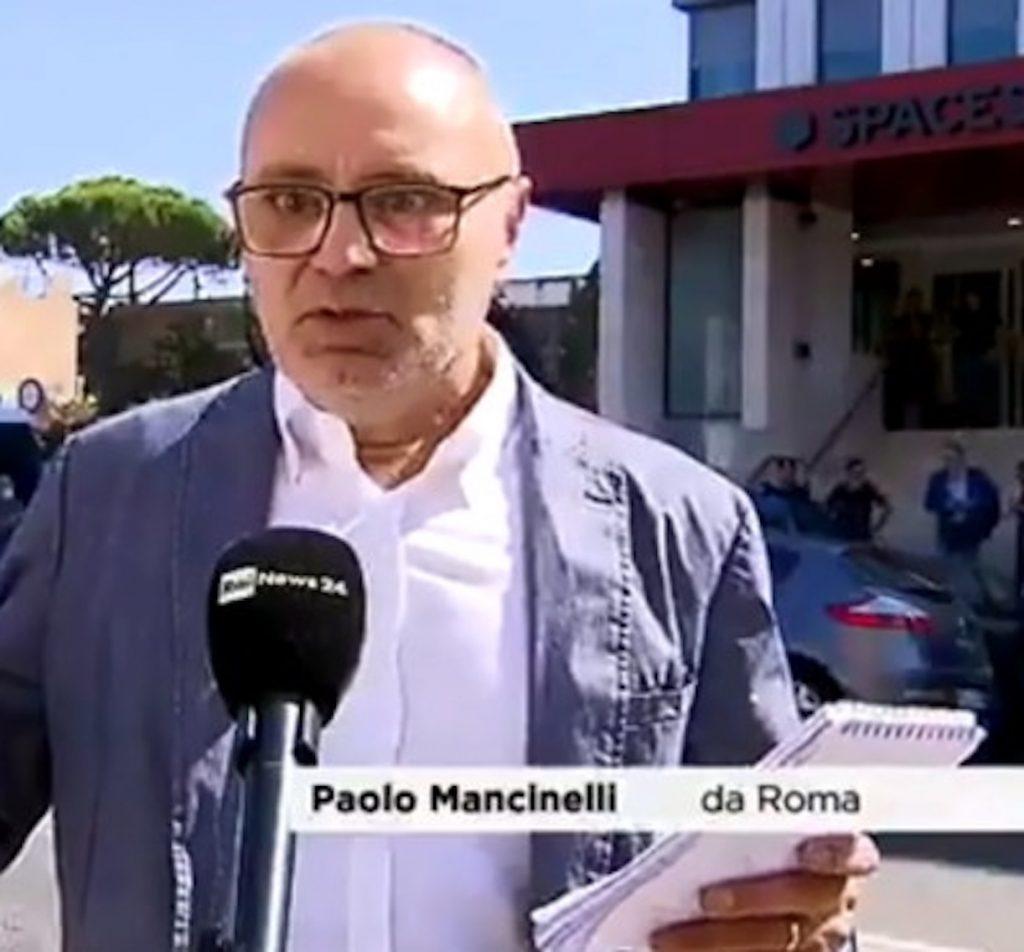giornalista Paolo Mancinelli panico