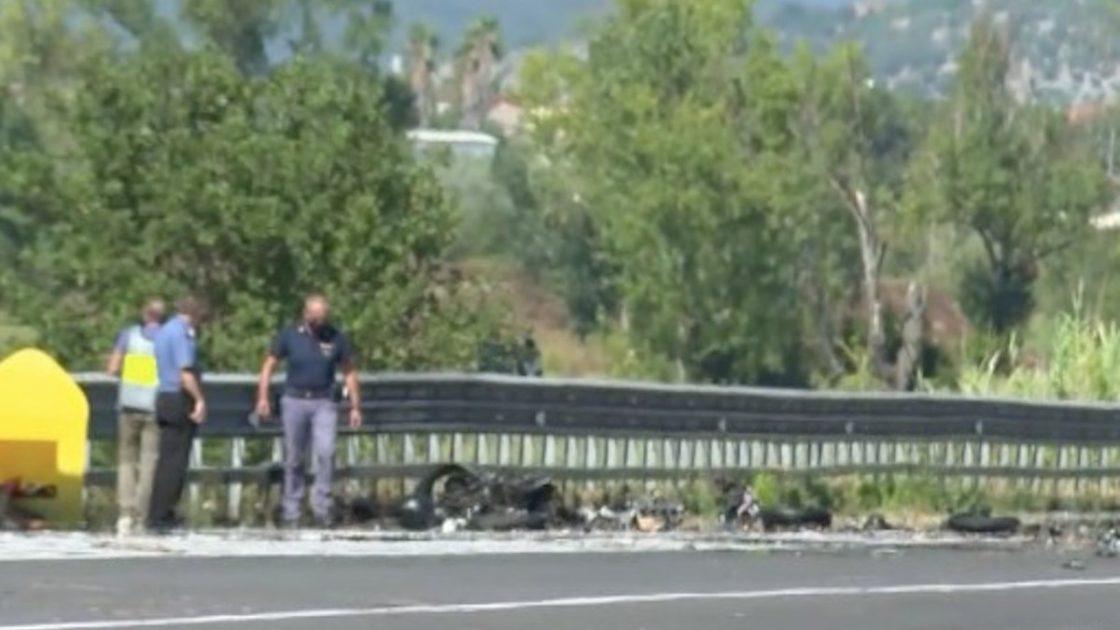 Incidente Frosinone moto frasso