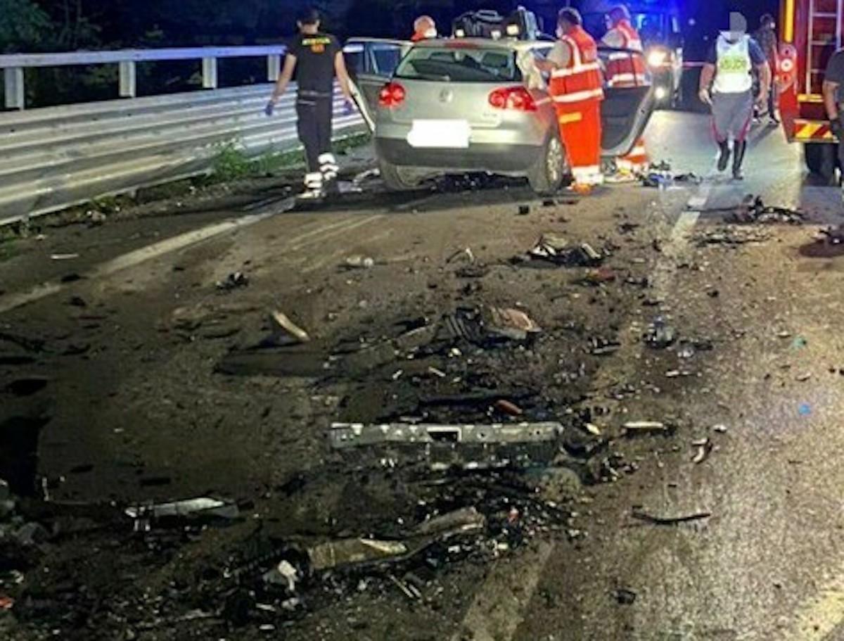 Incidente chieti morti 4 giovani