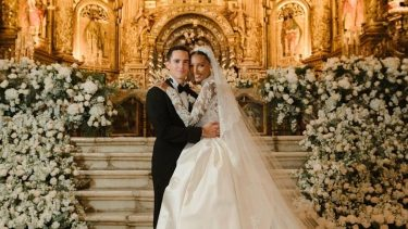jasmine Tookes matrimonio look abito