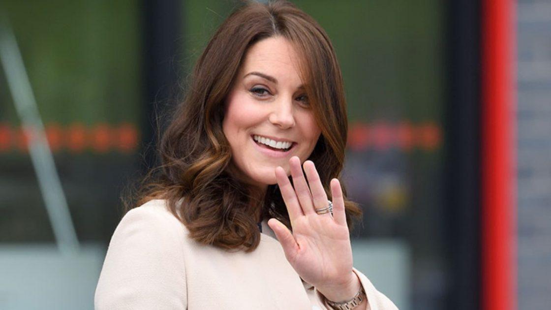 Kate Middleton spesa charlotte george