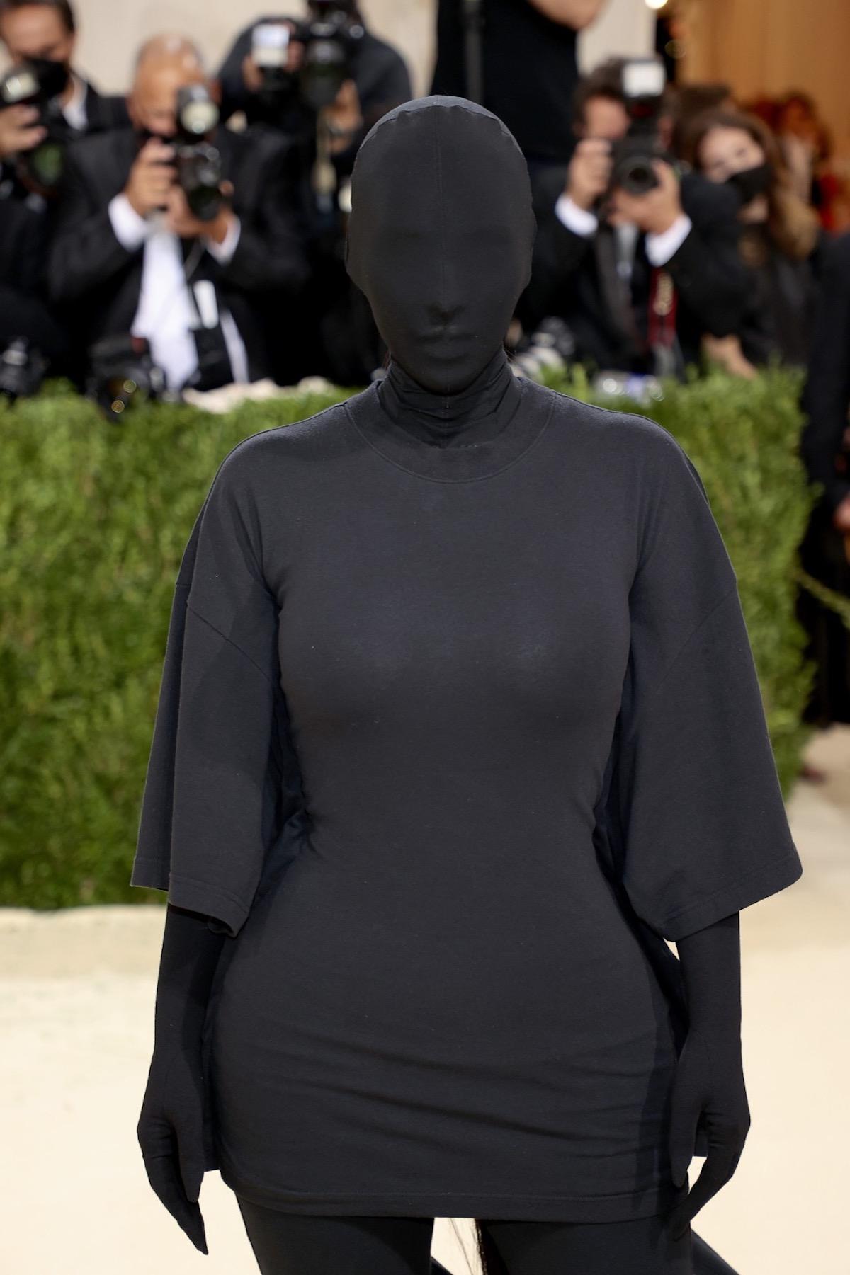kim Kardashian irriconoscibile Met gala 2021