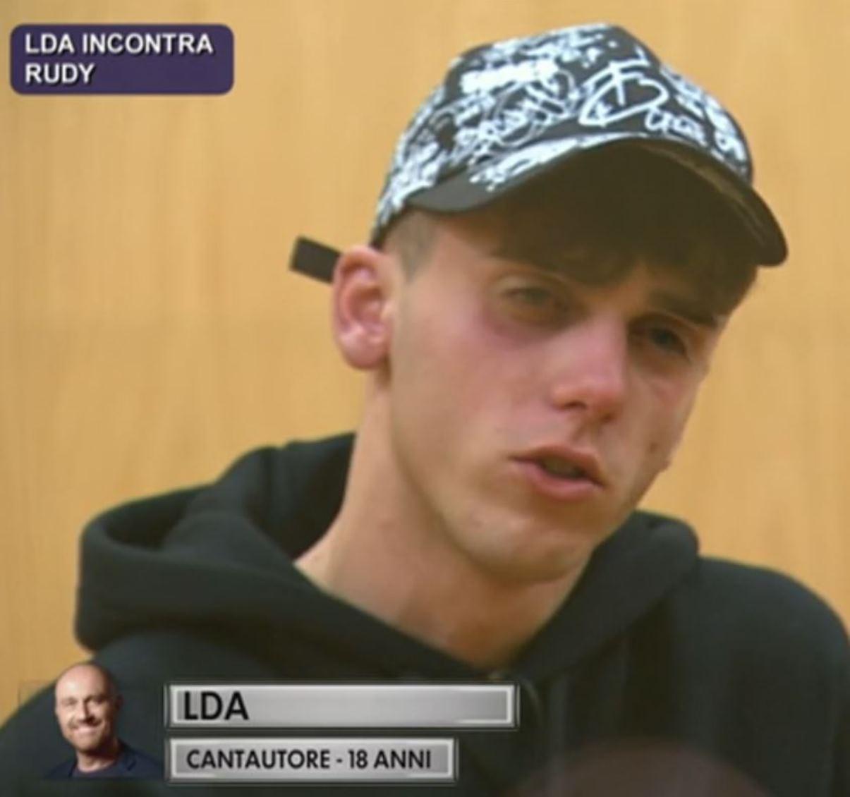 LDA Luca D'Alessio lacrime Amici 21