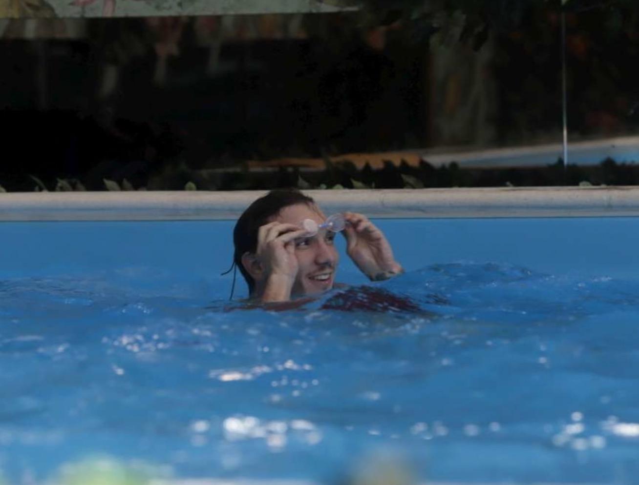 Manuel Bortuzzo Lulù selassié piscina gf vip 6