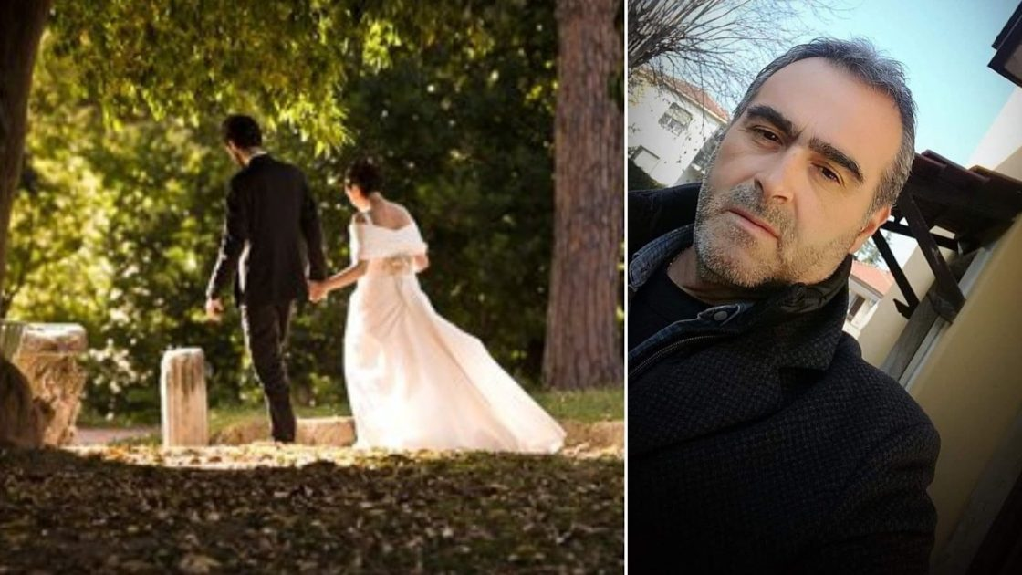 matrimonio morto padre sposa
