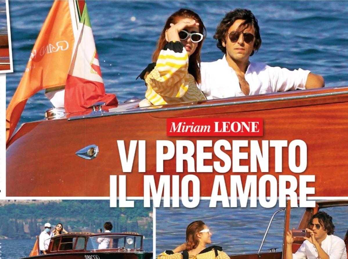Miriam Leone matrimonio Paolo Carullo