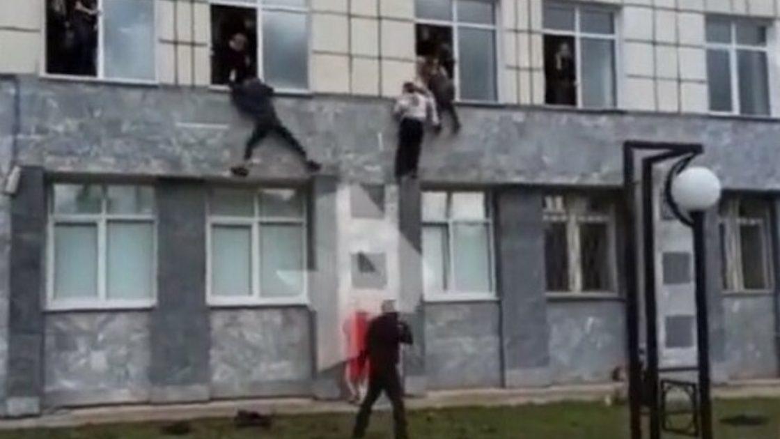 perm Russia sparatoria università