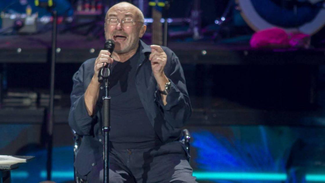 Phil Collins malato