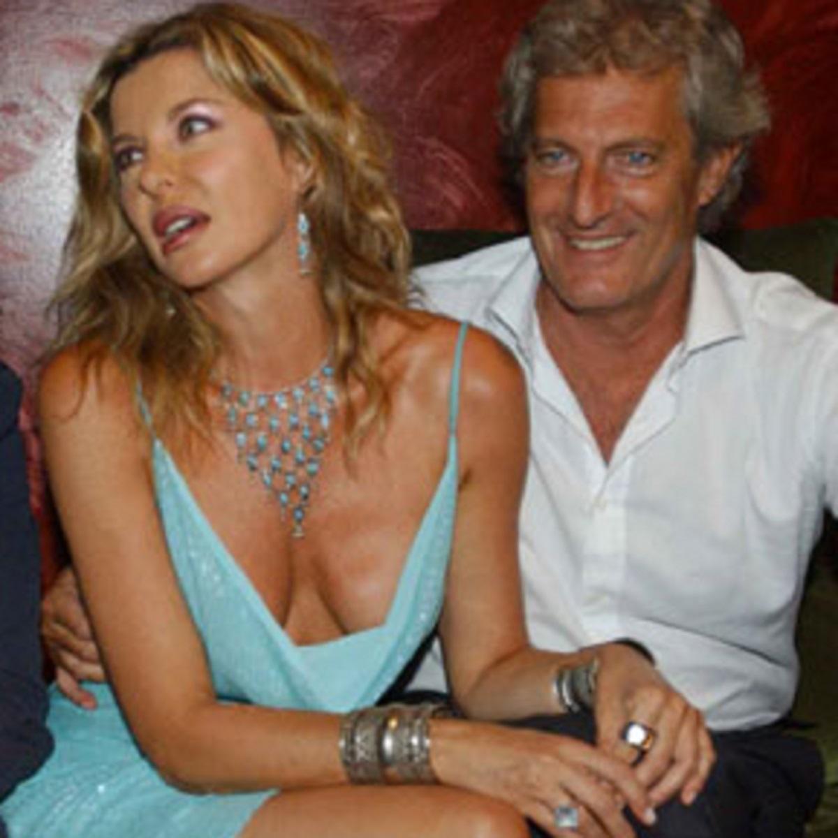 Alba Parietti morte anniversario Giuseppe Lanza messaggio