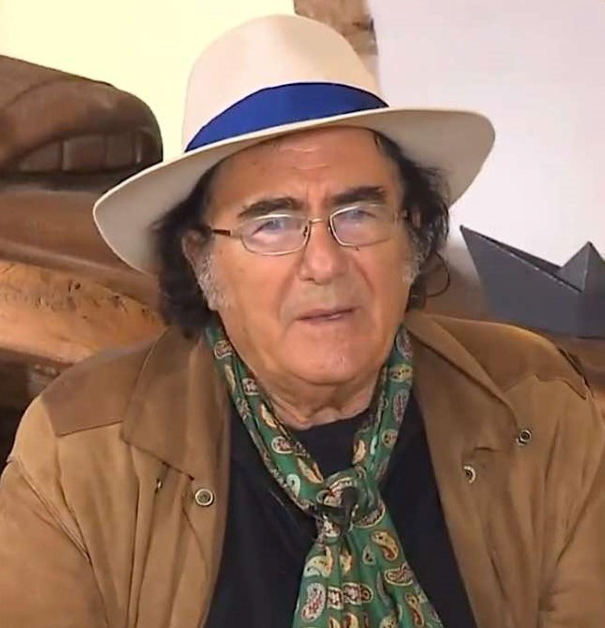 Albano Carrisi Problemi Ballando con le stelle Annuncio Alberto Matano