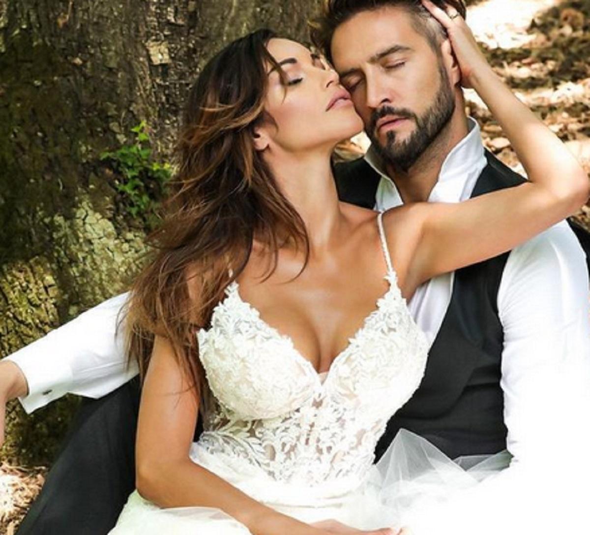Alex Belli Mila Suarez duro sfogo accusa matrimonio finto