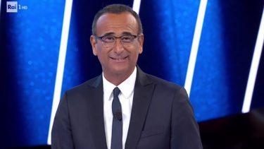 Carlo Conti Tale e Quale Show Nip Gennaio 2022
