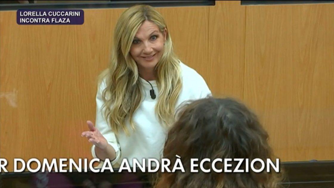 Lorella Cuccarini Furia Amici Flaza