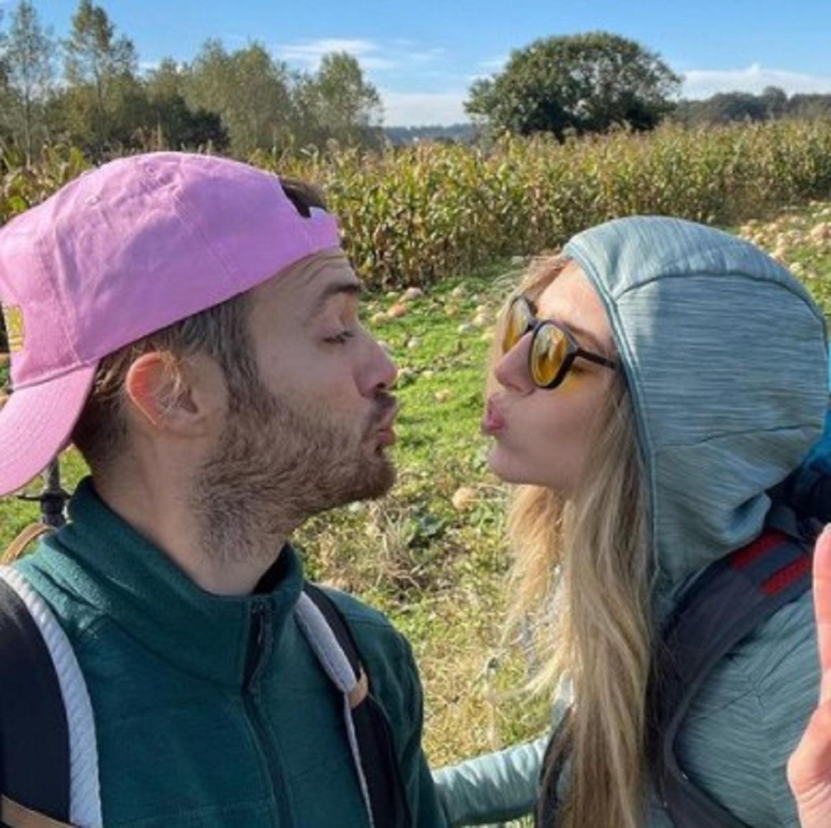 Guenda Goria cammino Santiago fidanzato Mirko foto ospedale