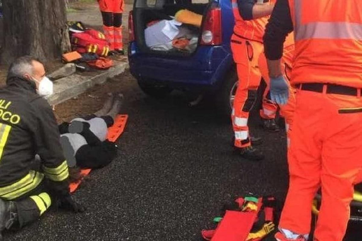 Anzio incidente morti due ragazzi tragedia feriti