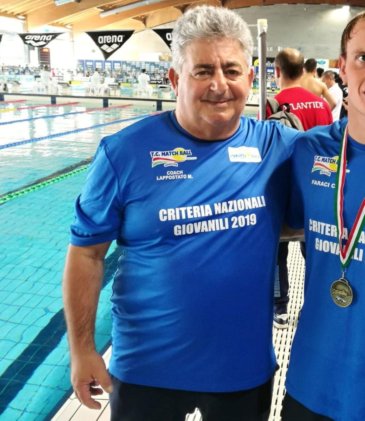 Lutto Sport Italiano Morto Marco Lappostato Nuoto