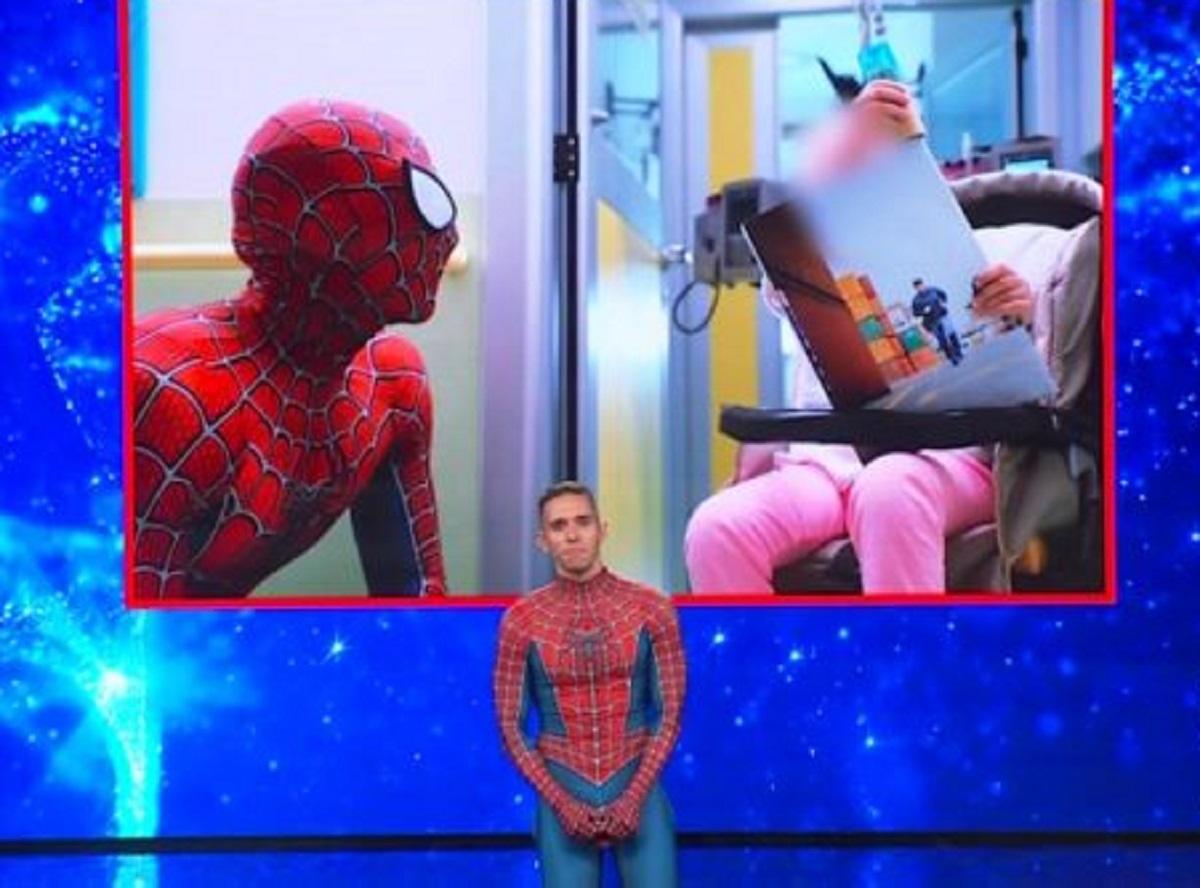 Matteo Villardita Spiderman Tu sì que vales