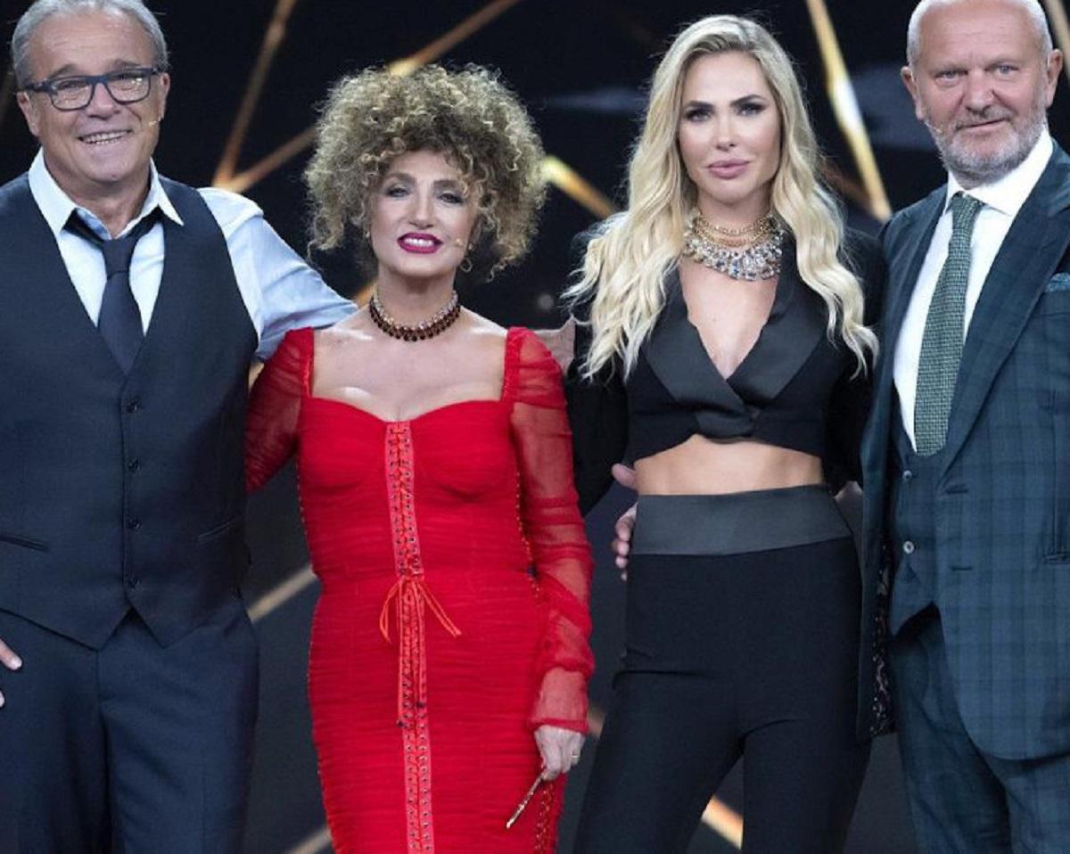 Ilary Blasi Star in the Star Andrea Pucci commento Loredana Bertè amante