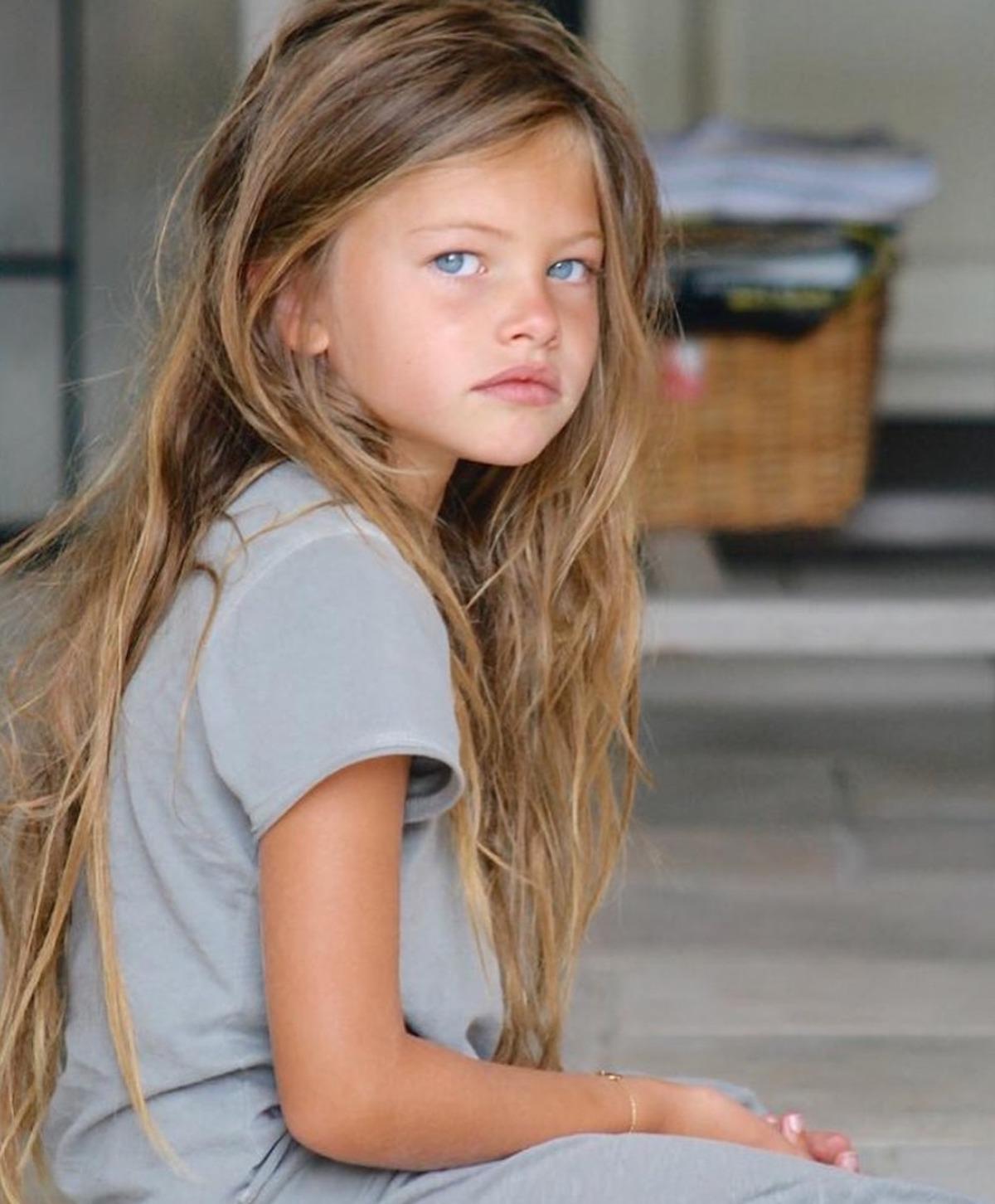 Thylane Blondeau bambina più bella del mondo oggi