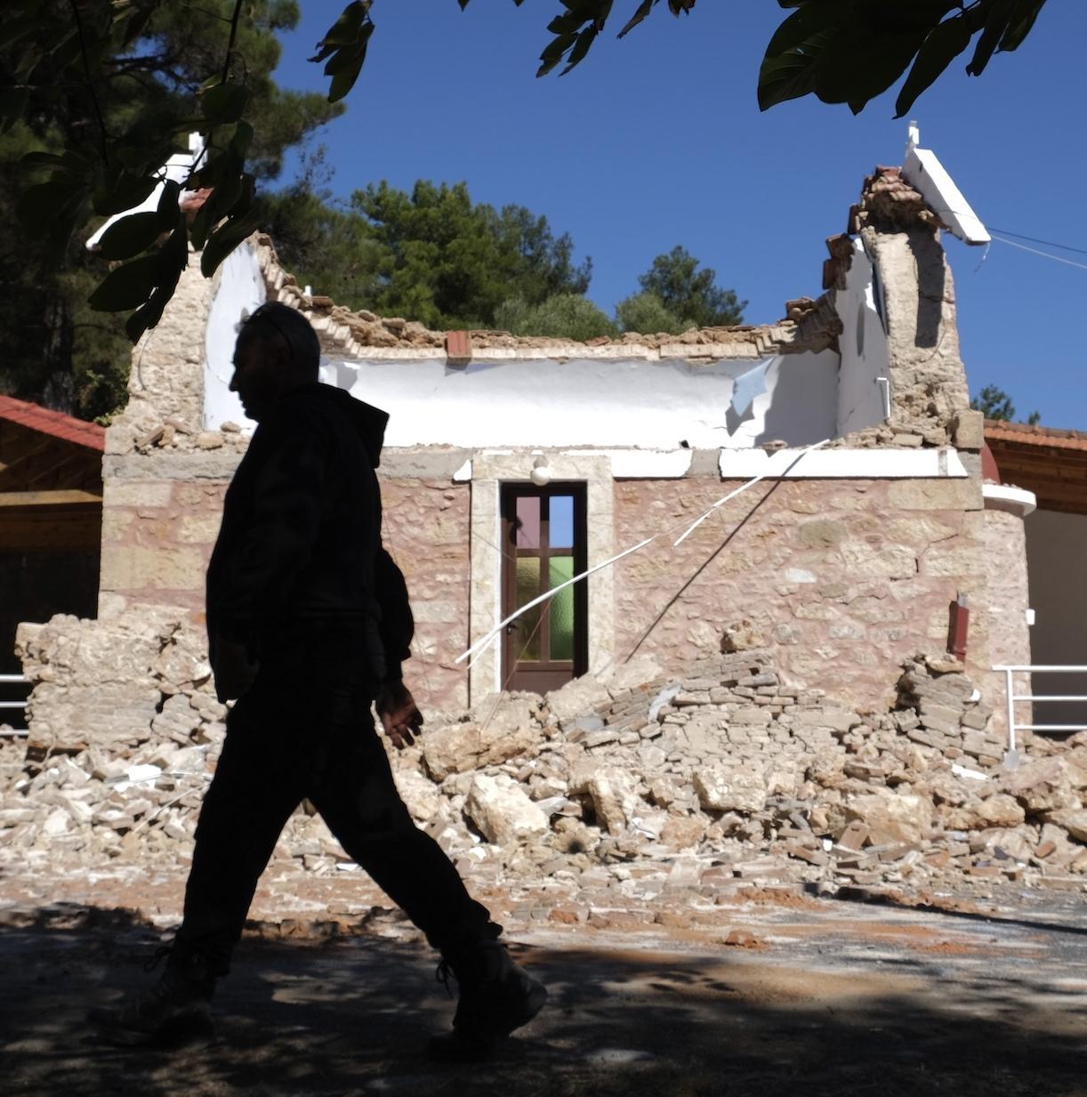 terremoto creta 12 ottobre 2021