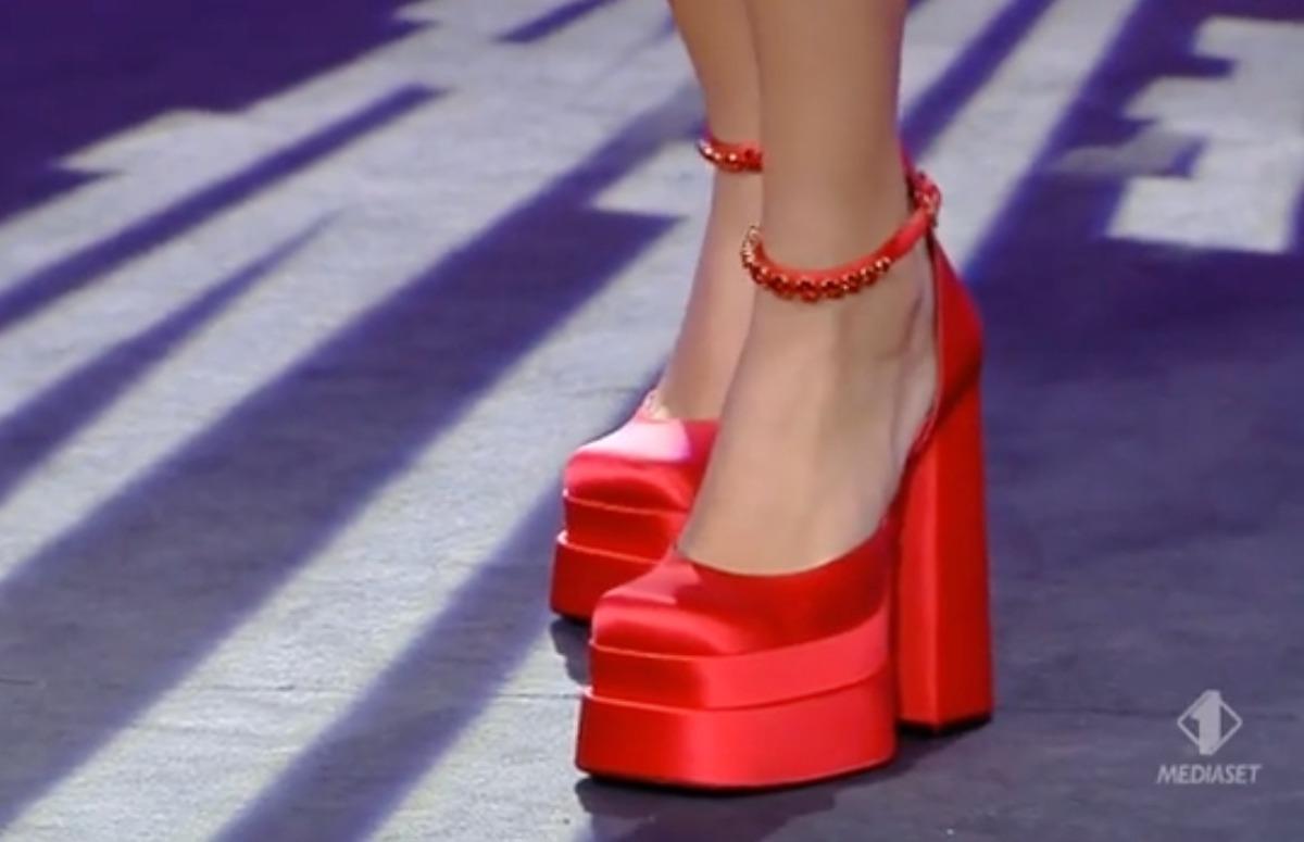 scarpe platform versace prezzo