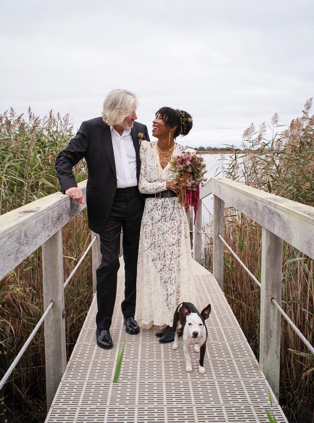 matrimonio roger waters