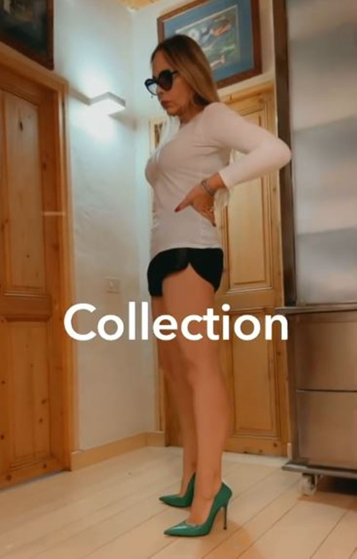 ornella muti shorts tacchi a spillo