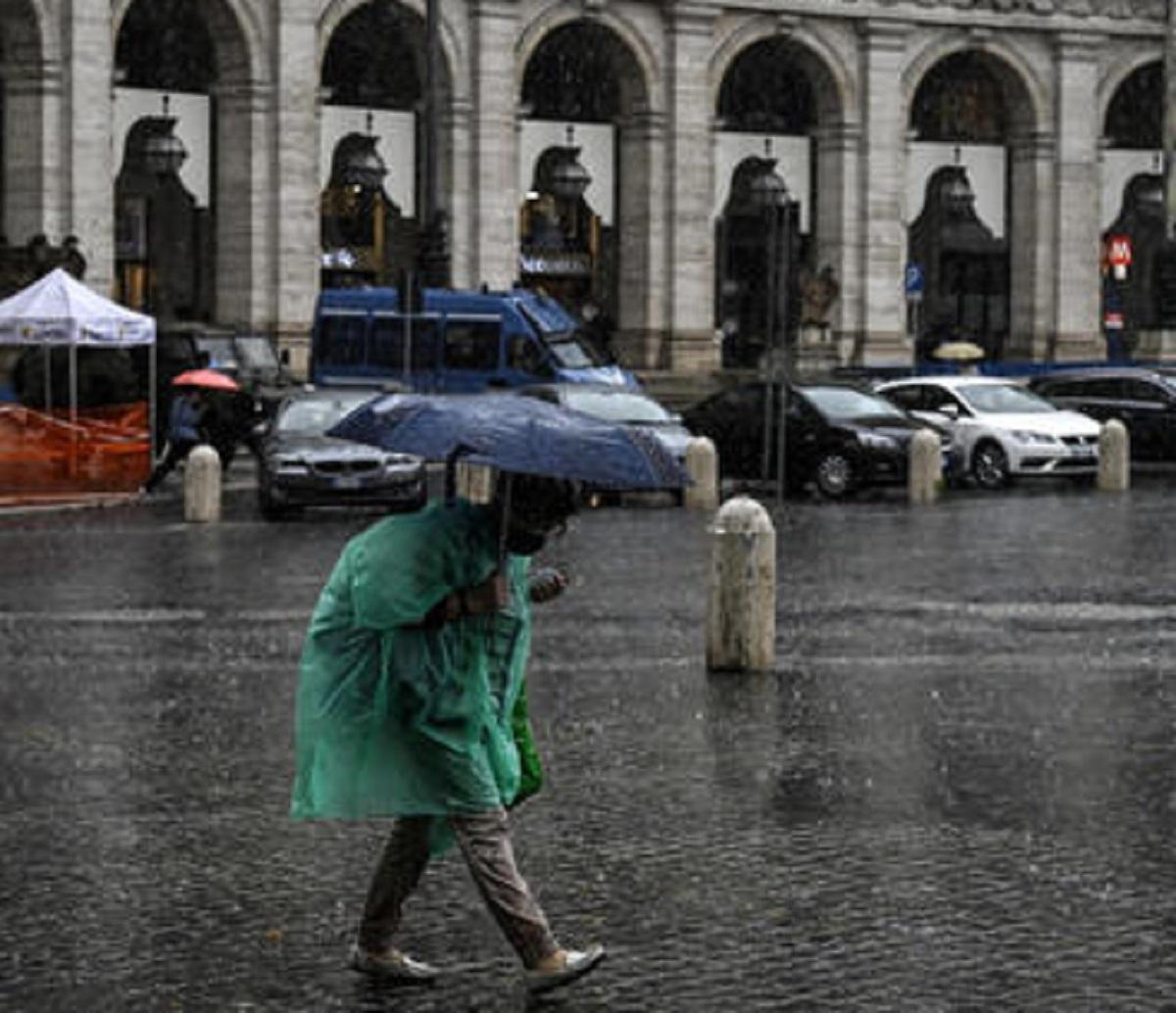 meteo Italia previsioni 3 ottobre temporali piogge