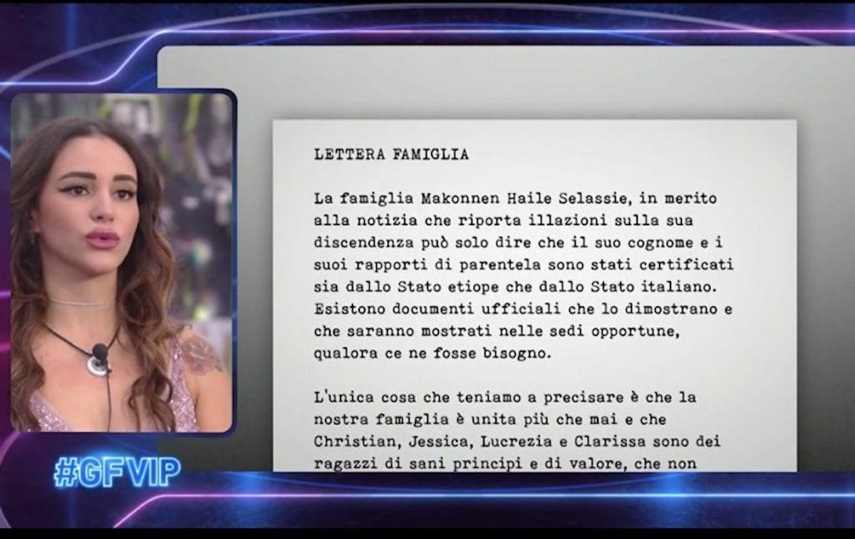 GF Vip 6, Clarissa Selassiè passato sorella Lulù