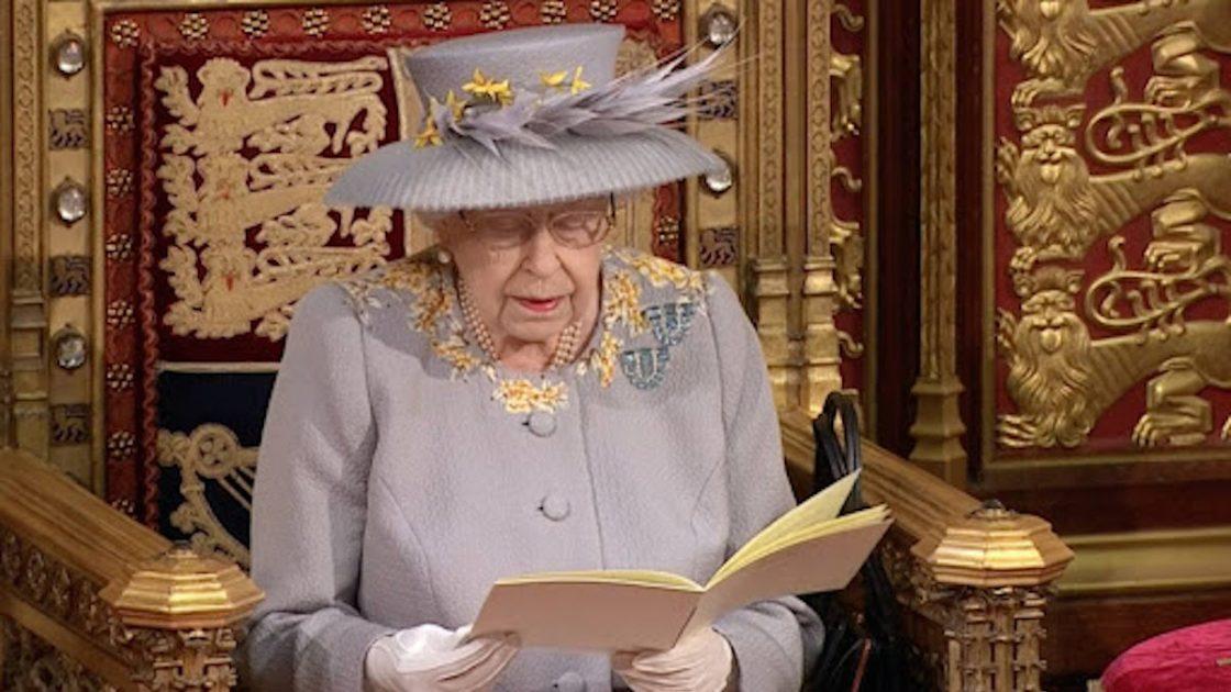 regina elisabetta bastone