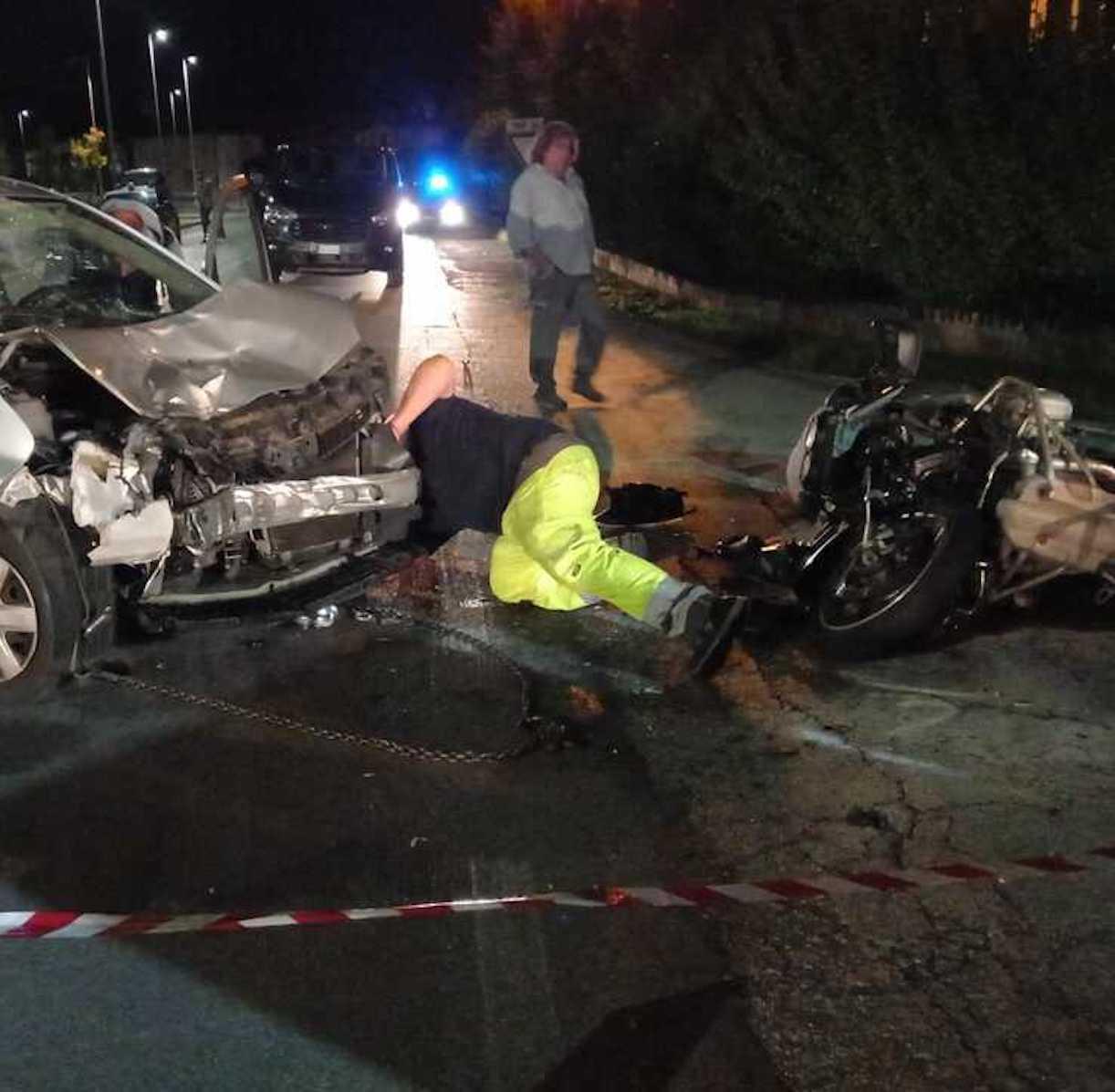 Roberto Maccan morto incidente