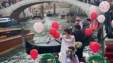 Vera Arrivabene matrimonio venezia